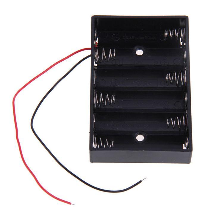 1000 idées sur le thème wire switch sur câblage électrique 6x aa 9v diy battery clip holder box case wire switch black