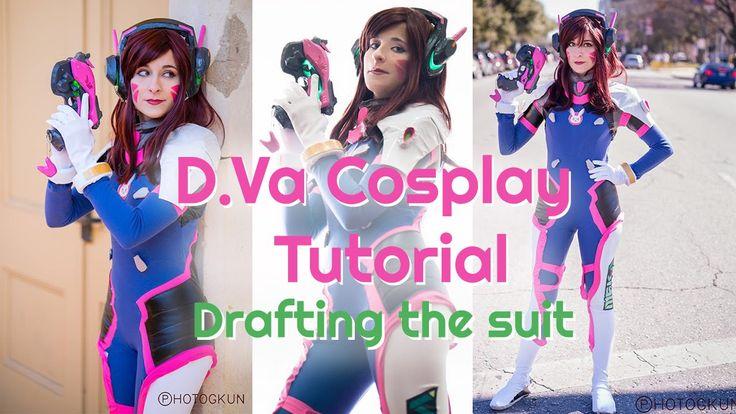 Overwatch D.Va Cosplay Tutorial (Bodysuit Explanation