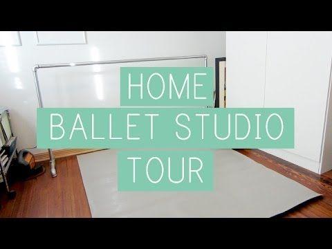 ▶ Home Ballet Studio Tour - YouTube