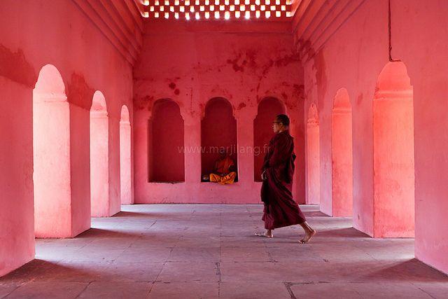 Bodh Gaya,Bihar,India - Photography by Marji Lang, via Flickr