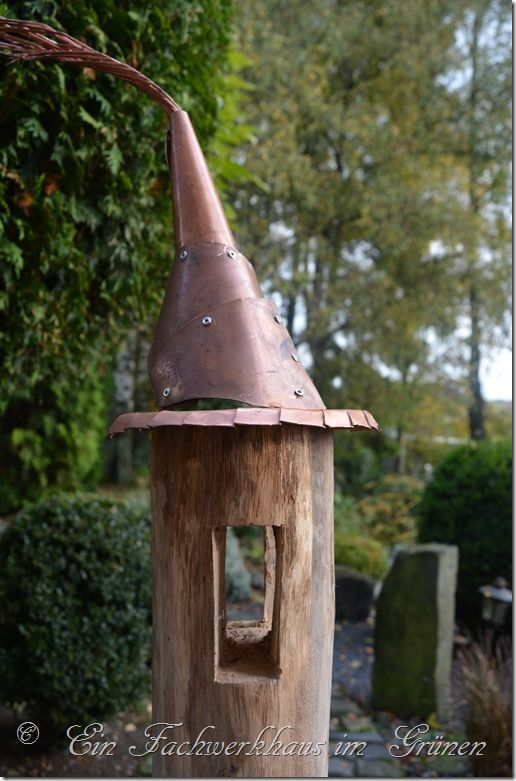 Ein Fachwerkhaus im Grünen Gartenblog