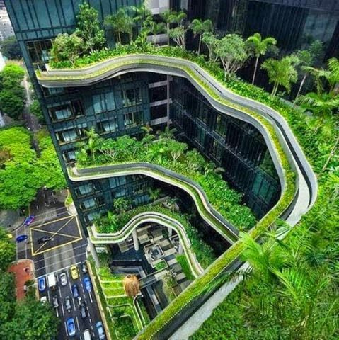 Green building plays an important role in a healthy future