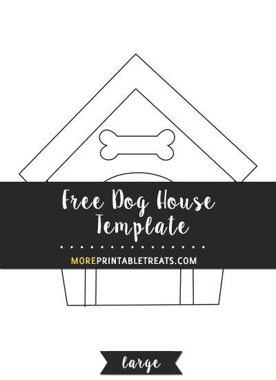 dog template templates printable dogs sign printables cat moreprintabletreats