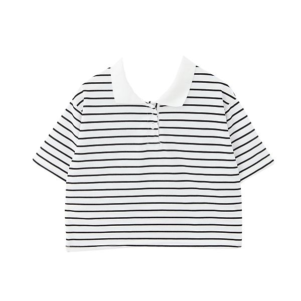 Cropped Collared Shirt via Cloud 97. Click on the image to see more!