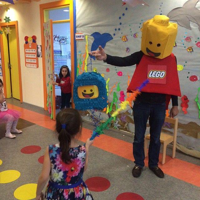 "Lego ""Benny Pinyata"" & Lego Adam!"