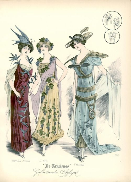 Fancy dress, 1912 the Netherlands, De Gracieuse