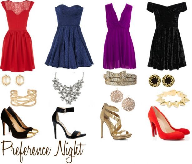 Sorority pref night outfits