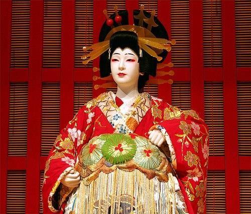 Костюм актера японского театра кабуки