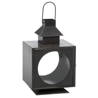 Lampion z metalu marki Villa Coloniale / lantern