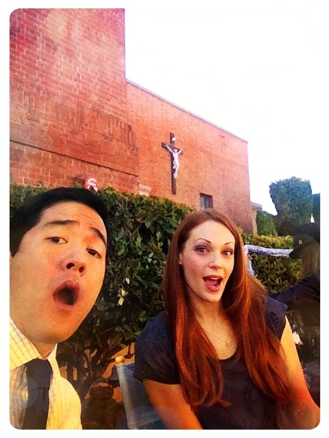 Tim Kang & Amanda Righetti of The Mentalist