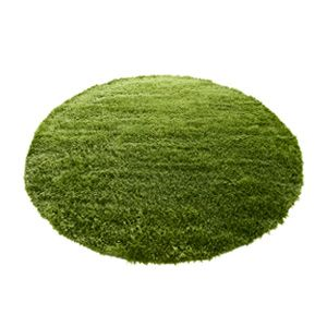 GRASS RUG (グラスラグ) Ф 150 (real Grass Rugs, Round, Round And Carpet) Natural +