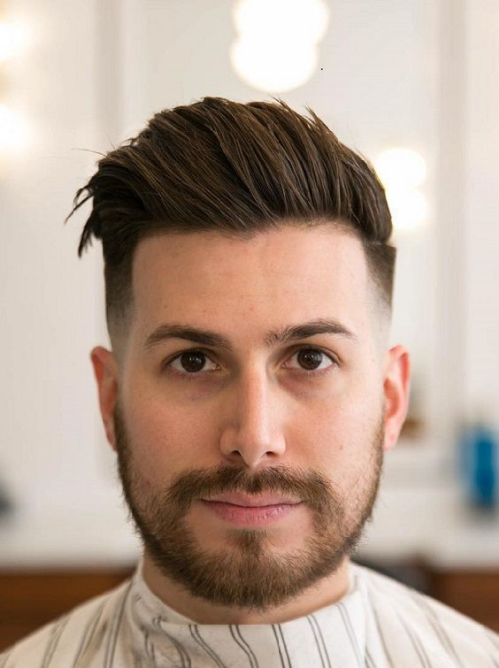 35 Comb Over Haircuts For Mens 2018 Pics Bucket Round Face Men Comb Over Haircut Hairstyles For Round Faces