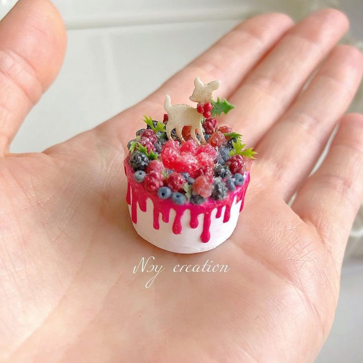 "NSY CREATION on Instagram: ""#miniaturefood #polymerclay #dollhouseminiatures #miniatures #polymerc…"