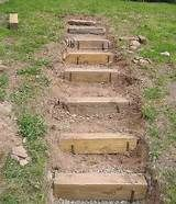 instructions on putting wooden steps on a slope - Yahoo Search Results Yahoo Image Search Results (How To Build Patio Step)