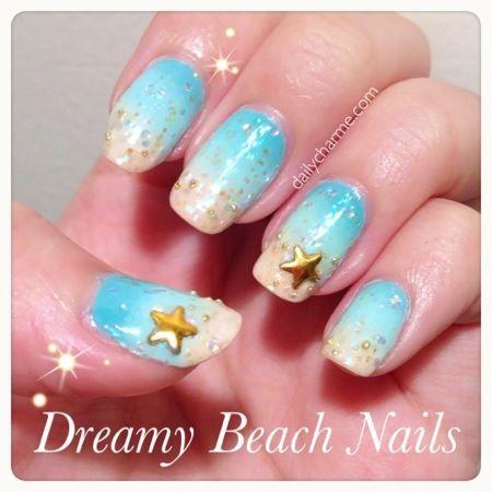 beach nails - Google Search