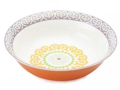 M & W Vivacious Purple Cereal Bowl 15cm