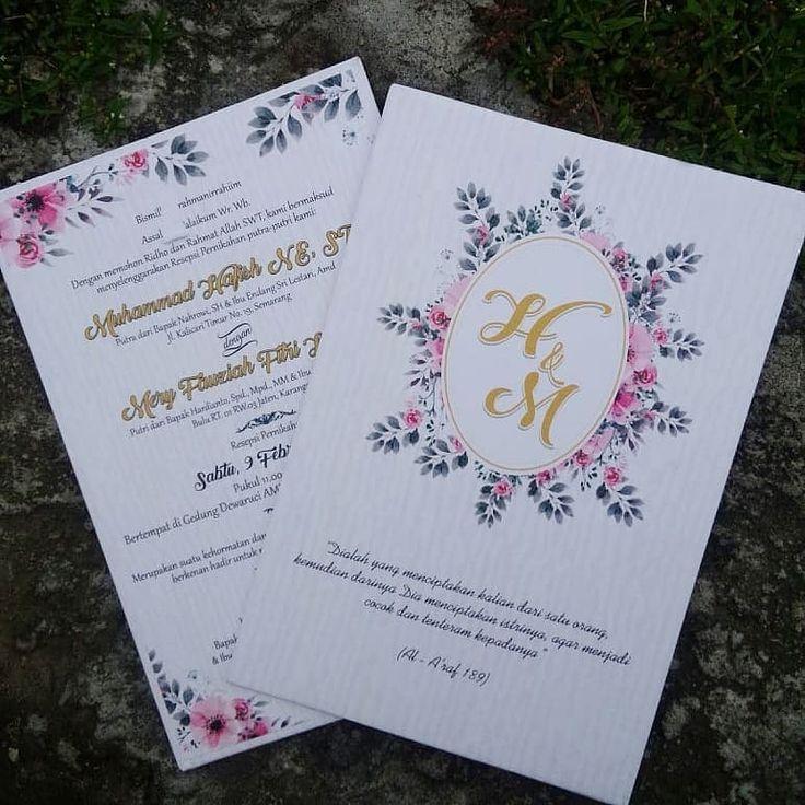 Segala Jenis Undangan Bisa Undngan Wisuda Nikah Khitan Dll Design Bebas Custom Pengerjaan Cepatt 089631532718 Wedding Cards Wedding Invitations Kad Kahwin