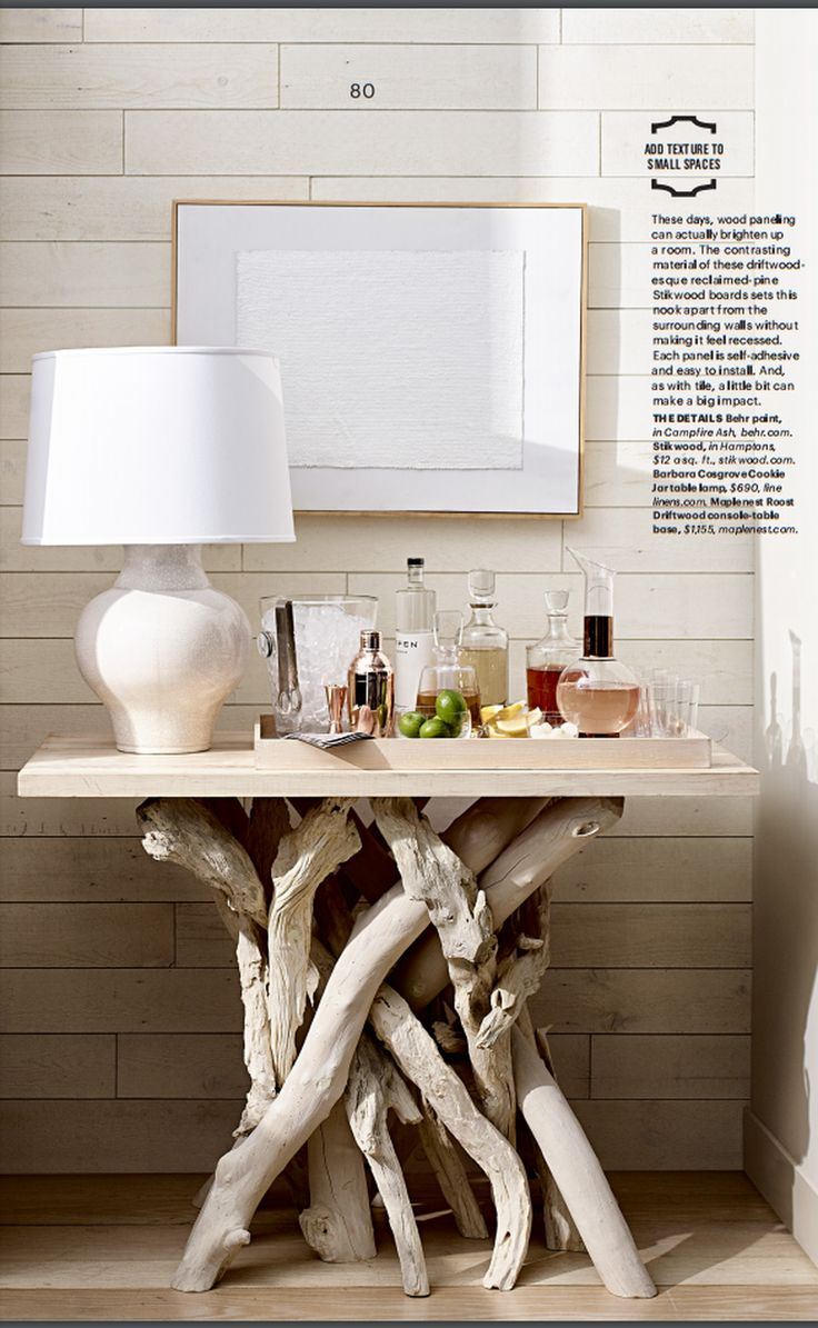 Roost Driftwood Table Bases