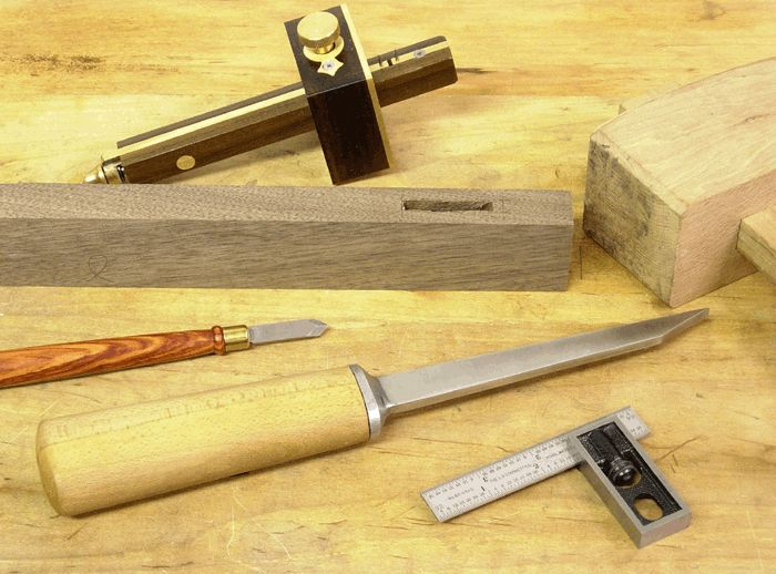 We've wanted to sell real English mortise chisels since Tools for Working Wood began. The challenge, of course, was to make a tool as good or better as the old mortise chisels and not go broke trying. More than a year ago Ray Iles sat in my living room and