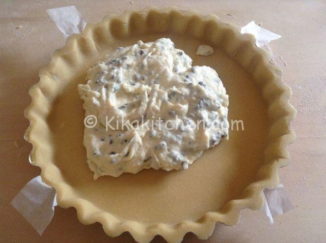 Crostata ricotta e cioccolato | Kikakitchen