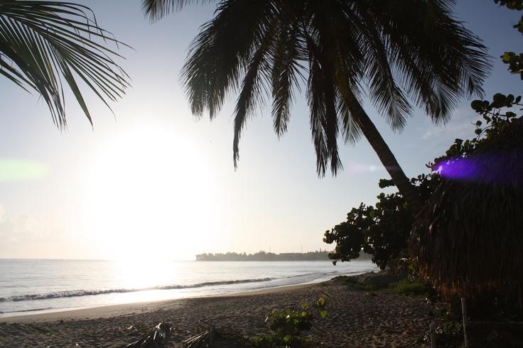Sunrise at Cabarete, Dominican Republic