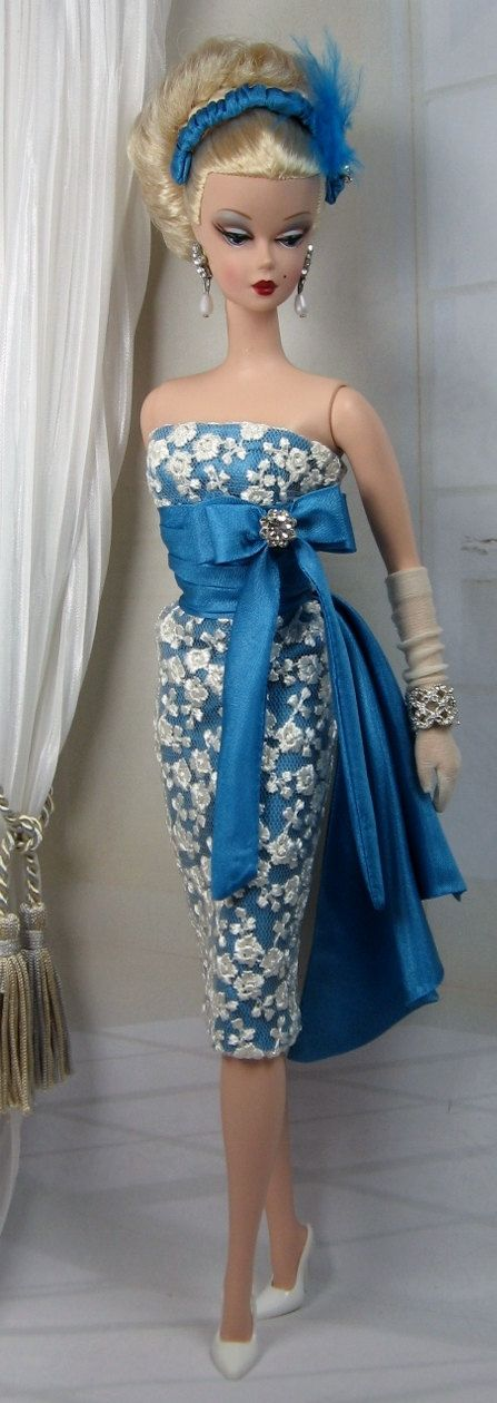 Blue Santai for Silkstone Barbie and Victoire by MatisseFashions