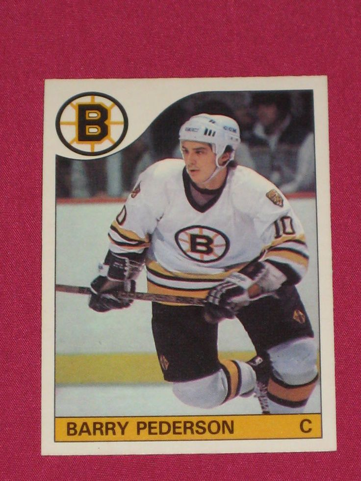198586 52 Barry Pederson, OPeeChee OPC, Boston Bruins