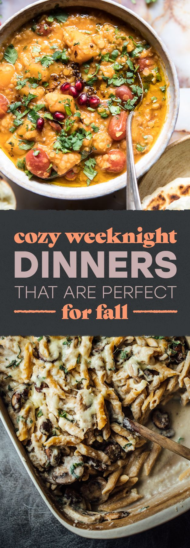 Because there's no dinner like a fall dinner.