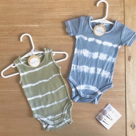 onesie Unisex striped dyed