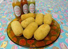 MariCômio: Mari na Cozinha: Salsicha empanada e o segredo da casquinha crocante !