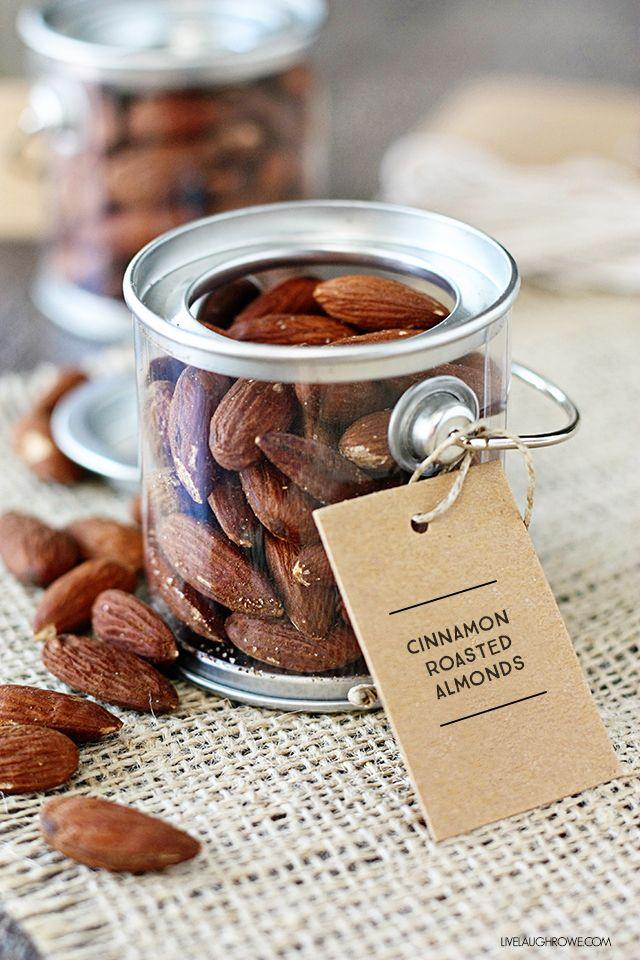 Cinnamon Roasted Almonds Recipe | Live Laugh Rowe | Bloglovin'