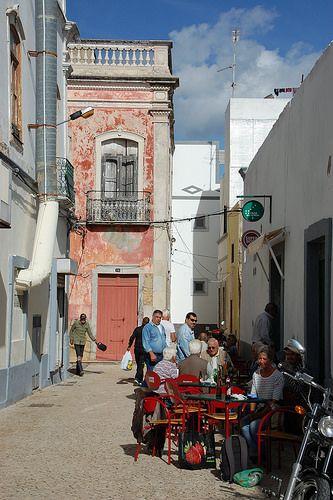 Olhao town, Algarve Portugal por Fiona in Eden