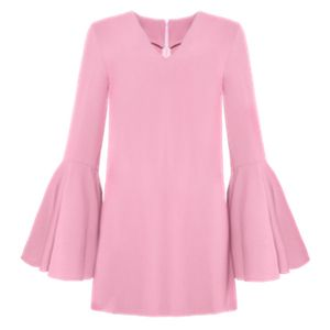 love these sleeves. and the pink. Pixie Market Amelie Bell Sleeve Dress