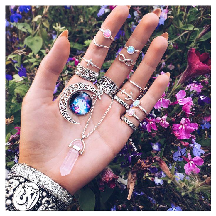 Sterling Silver Bohemian Jewelry