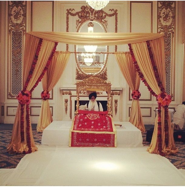 Sikh Wedding Decoration