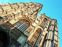 Cathédrale Notre-Dame d'Anvers  - Façade occidentale de la cathédrale Notre-Dame d'Anvers