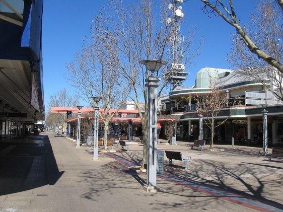Shepparton, Victoria, Australia...Maude Street Mall