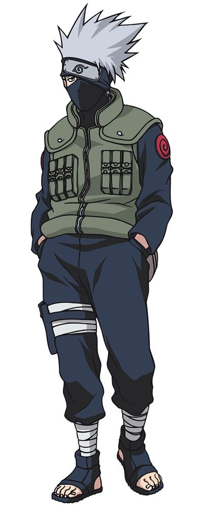 Kakashi Hatake, one of my favorite characters in any anime. The most badass porn reading assassin shinobi guy in the universe!