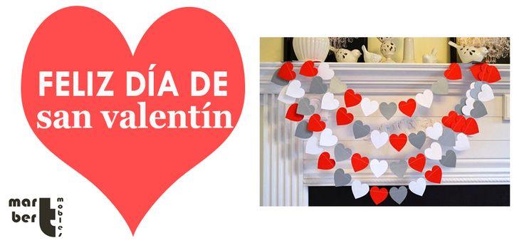 Desde Martbert Muebles os deseamos un feliz y amoroso día de San Valentin junto a las personas que queréis.