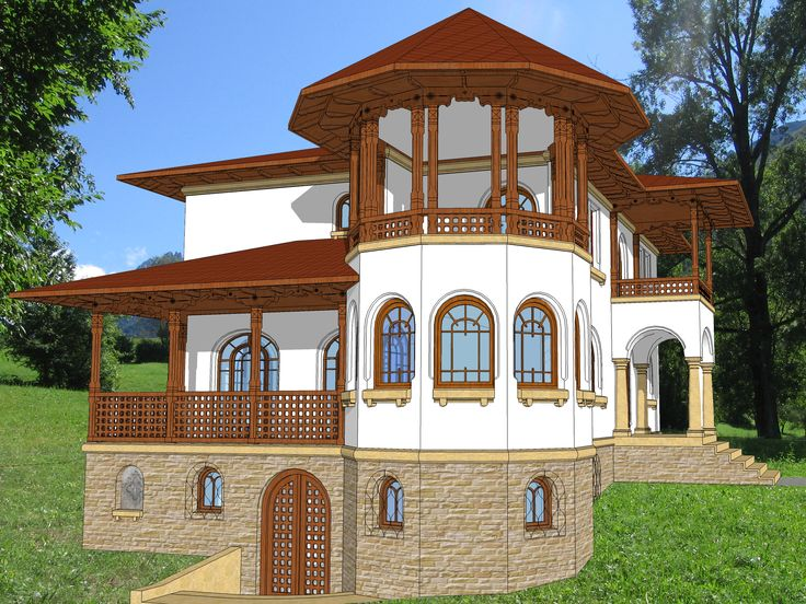 casa terasa neoromaneasca - Căutare Google