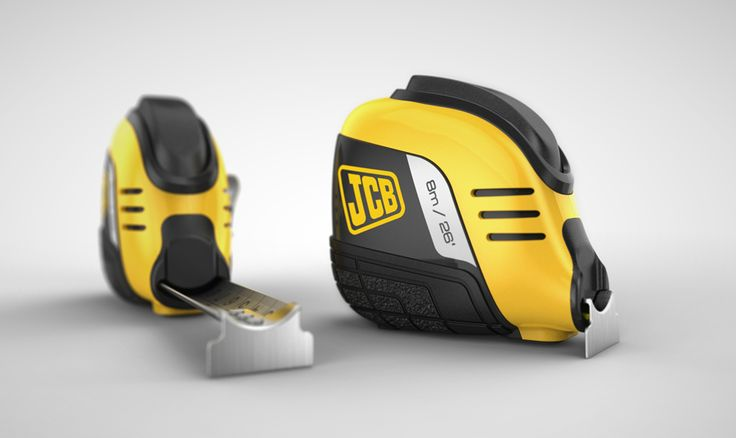 Lit with HDR Light Studio - JCB Tape Measure by Greaves Best Design
