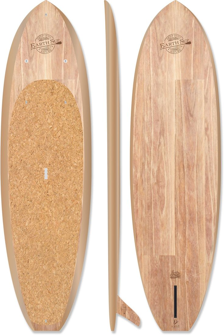 Deppen custom wood canoe paddles - Earth Torre 10 Stand Up Paddle Board
