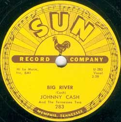 SUN Records, Memphis Tennessee  Johnny Cash & The Tennessee Two.  Elvis Presley recorded here, also.