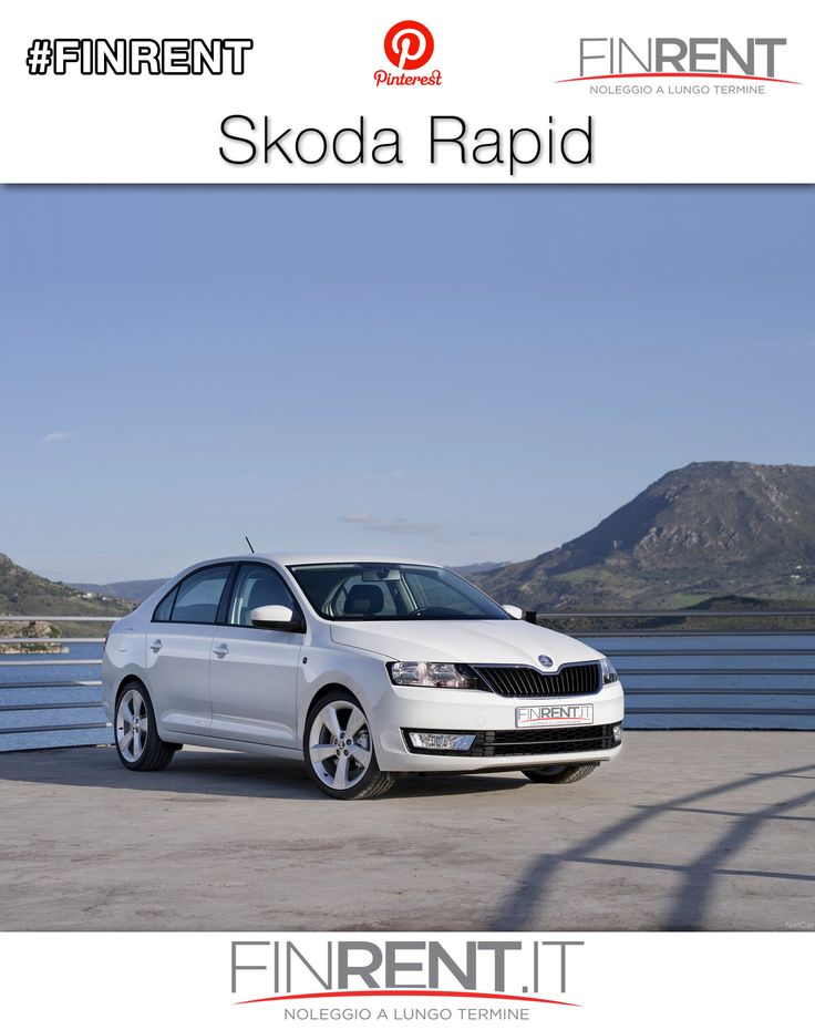 Skoda Rapid | Finrent.it http://www.finrent.it/skoda-rapid-22466/ La #SkodaRapid è un modello completamente elaborato sulla praticità: scoprila nella formula a noleggio lungo termine #Finrent