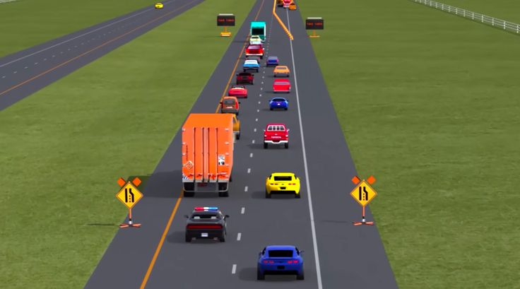 It may seem rude, but waiting until the lane ends to merge — officially called a zipper merge — is actually safer and reduces congestion.