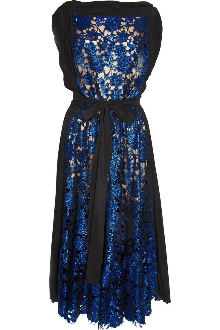Metallic lace dress by Vionnet