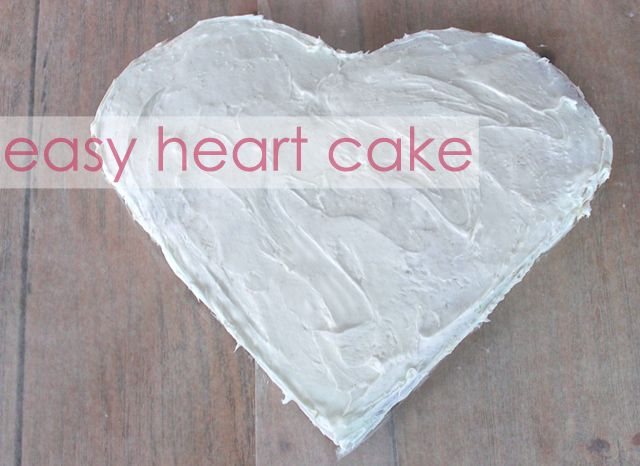 Heart Cake Tutorial - #valentinesday