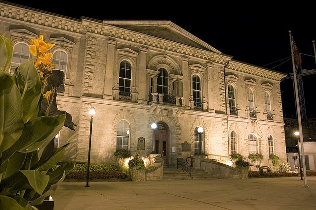 Old City Hall, now the courthouse