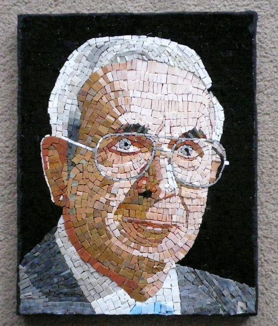 Custom Mosaic Portrait by LachanceGlassMosaic on Etsy