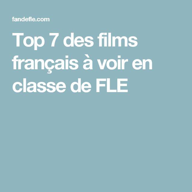 Top 7 des films français à voir en classe de FLE